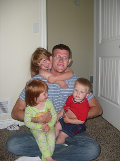 My husband and the kids