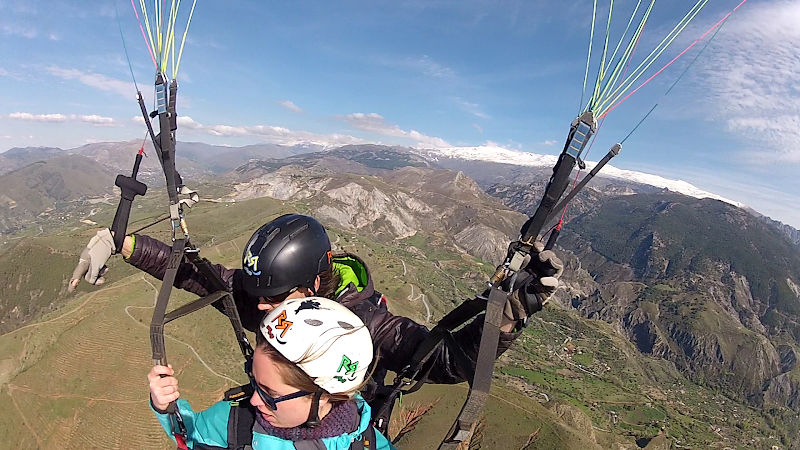 Happy Emotions Parapente Granada Volar parapente