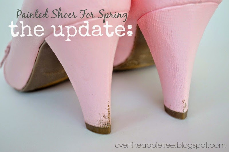 Painted shoes: UPDATE, Over The Apple Tree