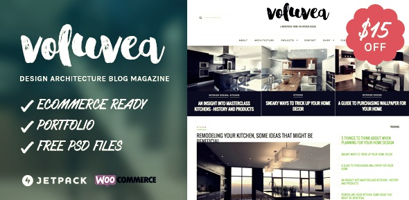 Voluvea Wordpress Teması