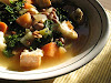 Tuscan-Style Pinto Bean Soup with Kale