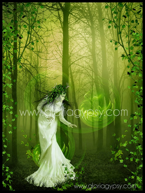 Green Magic by Gloria Gypsy