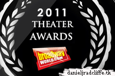 """Daniel Radcliffe's """"How to Succeed"""" wins at BroadwayWorld.com's 2011 Theater Awards"""