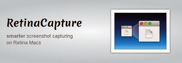 RetinaCapture tool for screen capturing on Mac