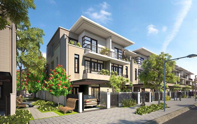 Biệt thự phố vườn dự án Lavila Kiến Á Nam Sài Gòn tại Nhà Bè.