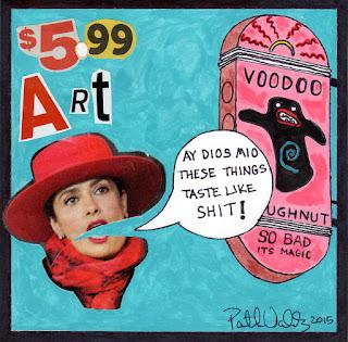 Selma Says Voodoo Donuts by Patrick Valdez