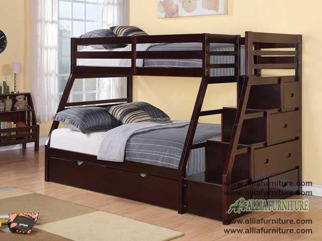 tempat tidur ranjang susun anak texas