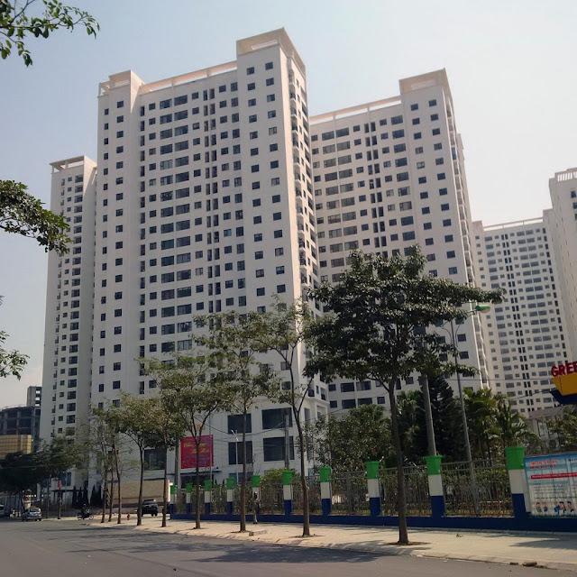 Tiến độ xây dựng chung cư Green Stars