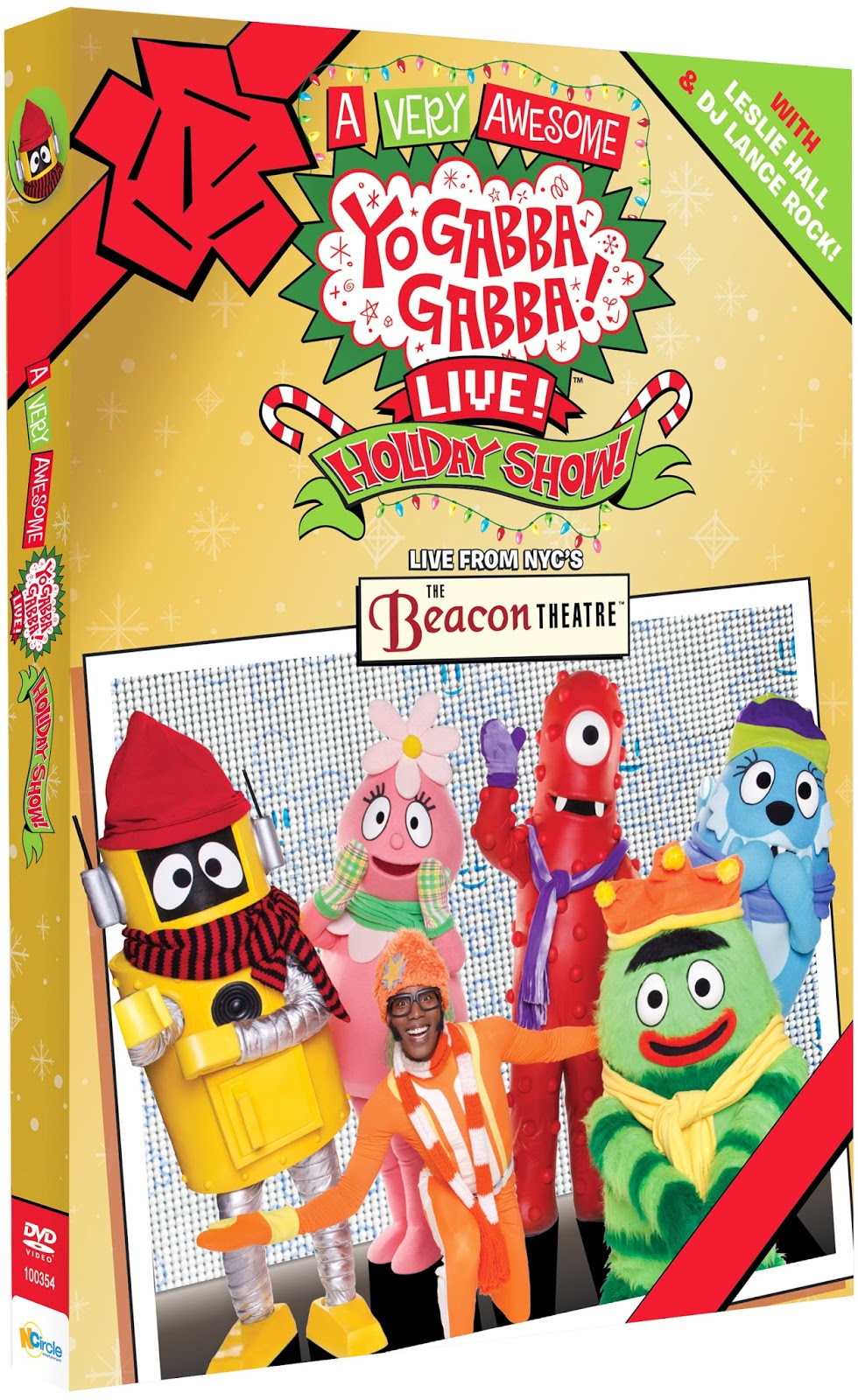 l a story 39 yo gabba gabba 39 39 octonauts 39 and more dvds celebrate the holidays giveaway. Black Bedroom Furniture Sets. Home Design Ideas