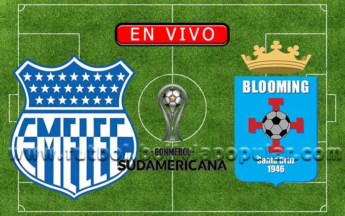 【En Vivo】Emelec vs. Blooming - Copa Sudamericana 2020