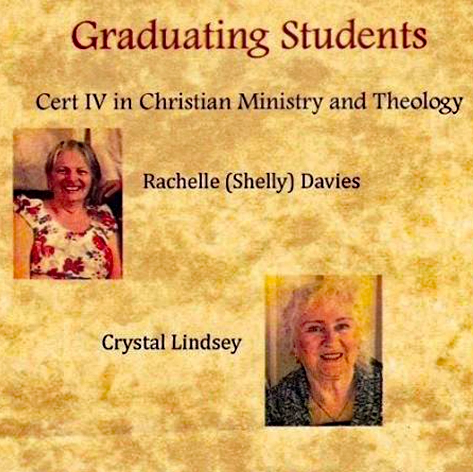 Graduating from Bible College