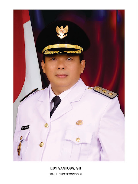 Foto Edy Santosa Wakil Bupati Wonogiri