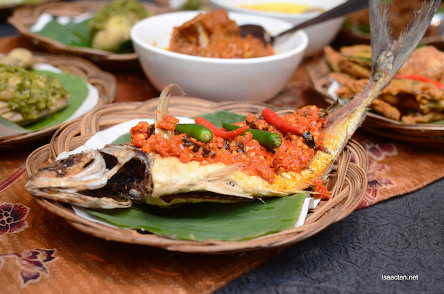 Ikan Bawal Taliwang Lombok
