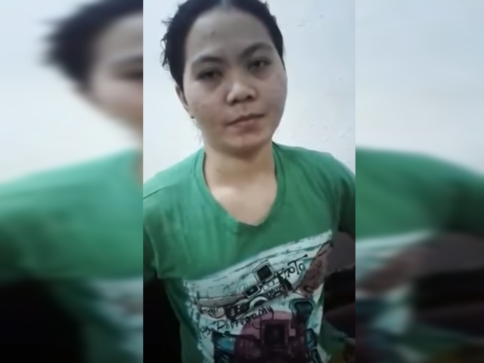 A facebook user uploaded a video of an allegedly maltreated OFW in Saudi Arabia. Marilou Contreras, hailed from Davao, showed her huge black bruises all over her body  which according to her was from severe beating of her employer that she was suffering for about a year now aside from not giving her salary for the period of nine(9) months.           These horrific photos screen-grabbed from the video uploaded by a concerned citizen can speak for themselves how ruthless her employer treated her.     The victim who is working as a household service worker in a Saudi family showed her blackened skin due to bruises and cuts, some of which are already healing. The victim, as well as the video uploader appeal for help especially to the concerned authorities. They are urging the netizens to share the video until it catches the attention of the government agencies. According to the uploader, they are presently in a police station in Al Khobar, Saudi Arabia.  The facebook post of Jinkikay Marquizo Cabca has now 176,000 views, 1,600 reactions and almost 7,000 shares as of this writing.  Read More:       ©2017 THOUGHTSKOTO