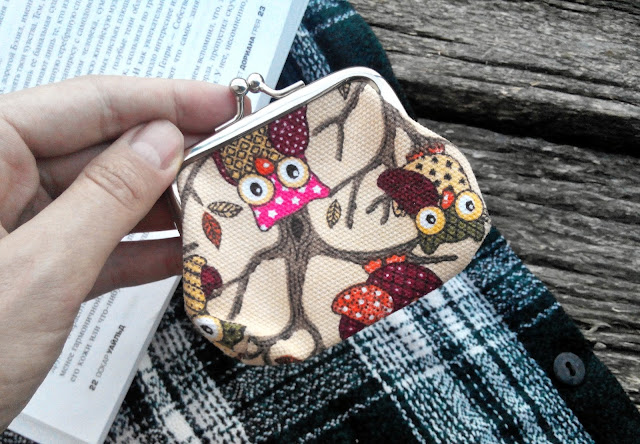 Owl Buckle Purse