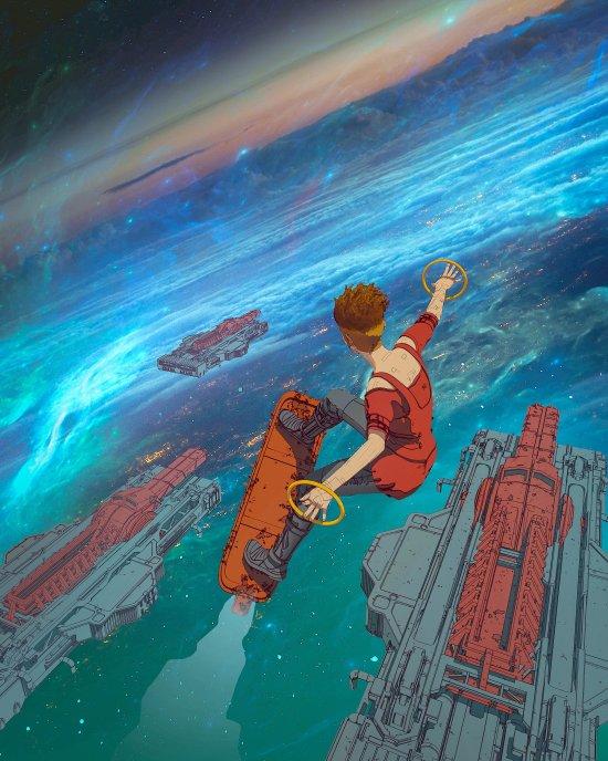 Darius Bartsy artstation deviantart arte ilustrações ficção científica cyberpunk exploração espacial