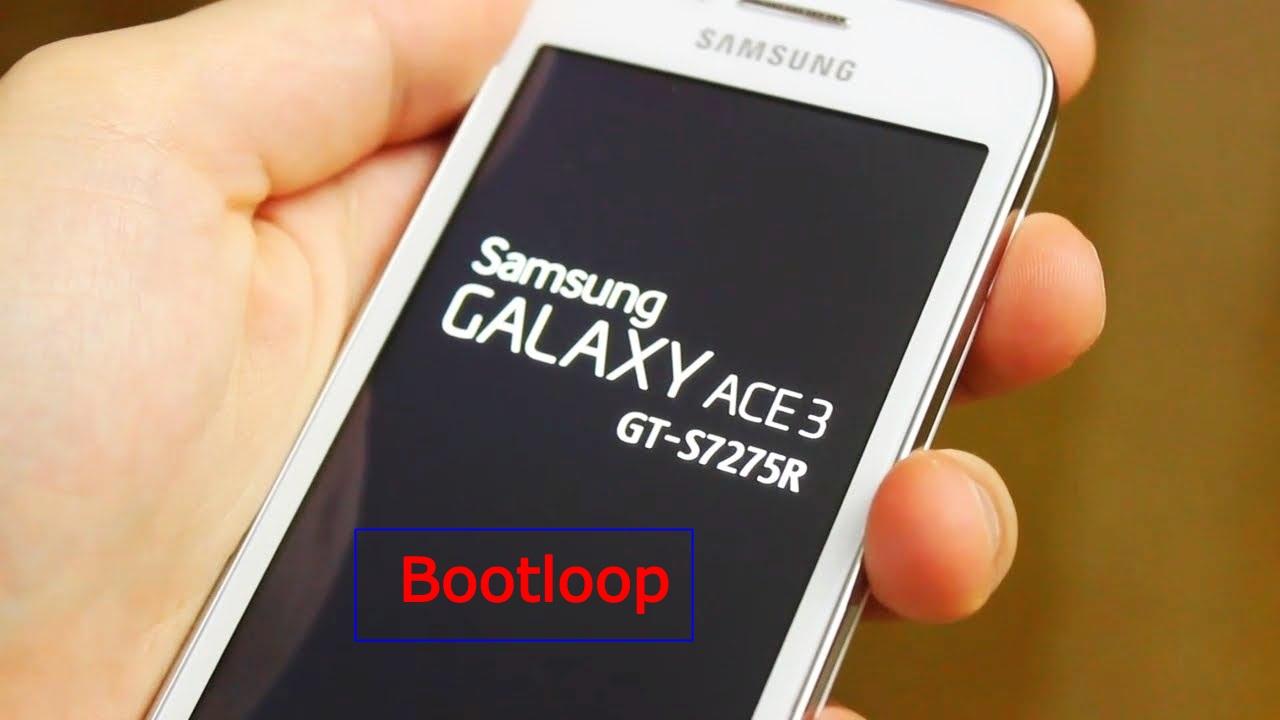 2 cara mengatasi samsung galaxy ace 3 bootloop : Flash dan