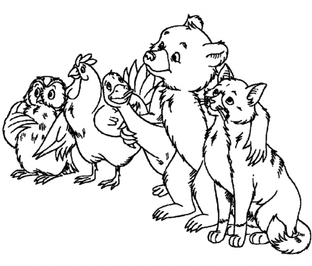 coloring pages or little bears - photo#10