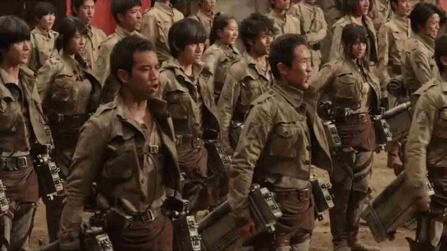 Attack on Titan Live Action invades Philippine cinemas ...