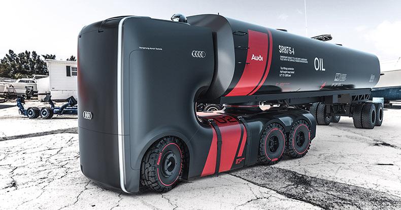 El proyecto Camión de Audi