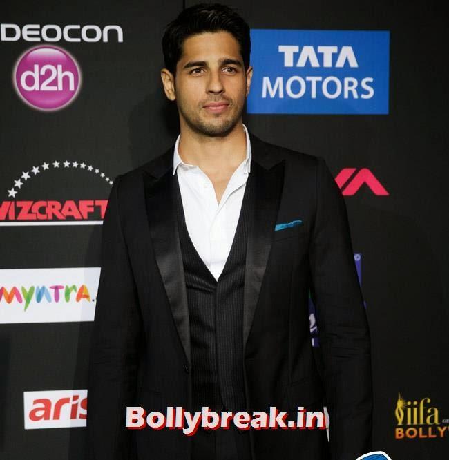 Sidharth Malhotra, IIFA Awards 2014 Pics