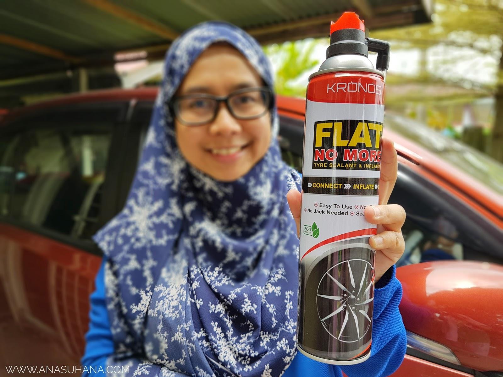 KRONOS FLATNOMORE Tyre Sealant & Inflator