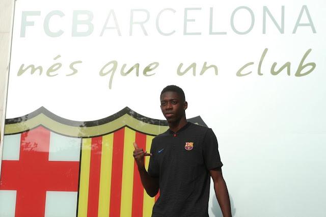 Cầu thủ đắt giá thứ 2 thế giới tươi rói đến Barca 3