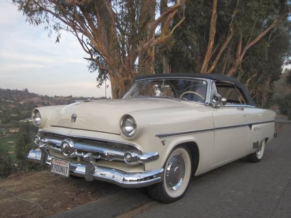 Cost To Paint A Car >> 1954 Ford Crestline Sunliner Convertible | Auto Restorationice