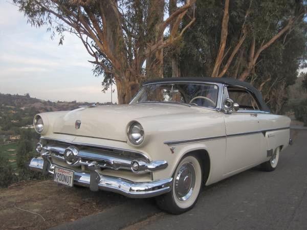 1954 Ford Crestline Sunliner Convertible Auto Restorationice