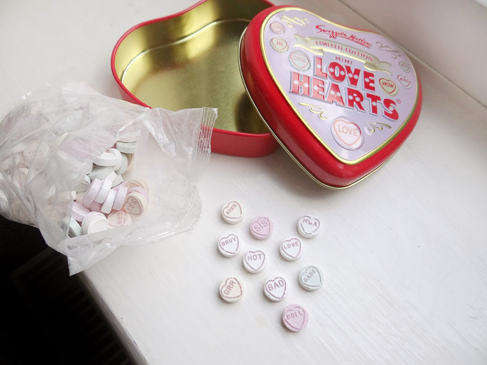 Love Hearts, Limited Edition Love Hearts Tin, Love Hearts 60th Anniversary Competition