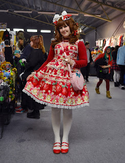 kawaii lolita fashion cute sweet närcon vinter