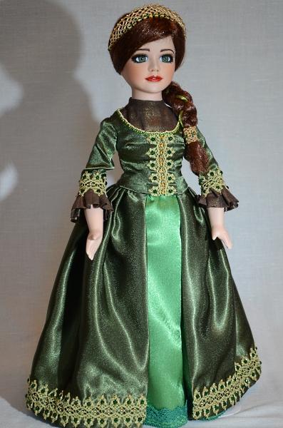 Porcelain doll renovation.