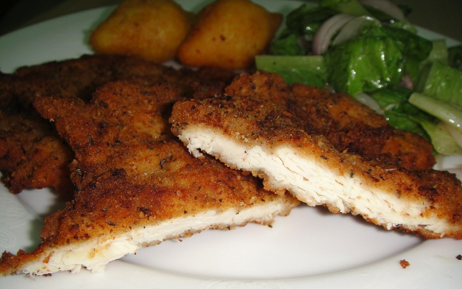 Maryam S Culinary Wonders 168 Chicken Escalope Milanese