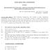 RECRUITMENT OF SCIENTIFIC ASSISTANT IN INDIA METEOROLOGICAL DEPARTMENT EXAMINATION, 2017