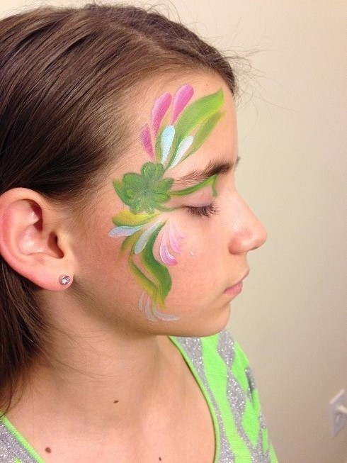 St Patricks Day Face Painting Tutorial Paint Savvy