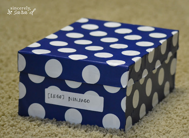 Shoe-Boxes-turned-into-storage-boxes-