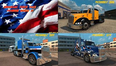 Paket Truck Amerika
