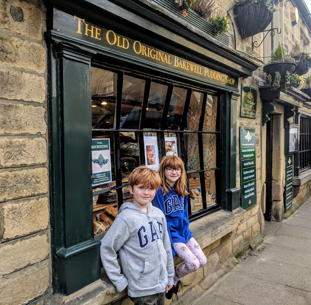 A Review of Darwin Forest & The Peak District with Tweens - original bakewell pudding shop