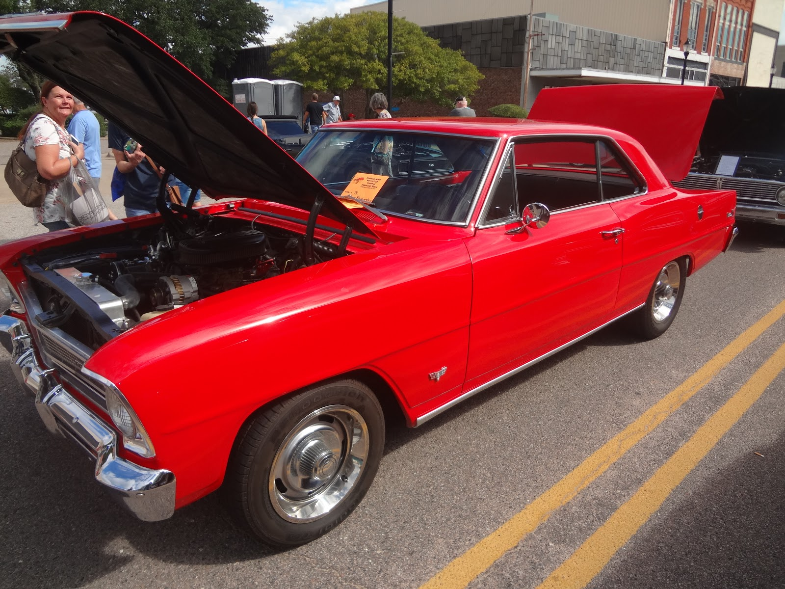 Underdogs Utterings 2018 1966 Chevy 327 Firing Order Nova Ii This One Has A V8 Engine And 4 Speed Transmission Lightweight Body Means You Could Smoke The Wheels In Any Gear If So Inclined