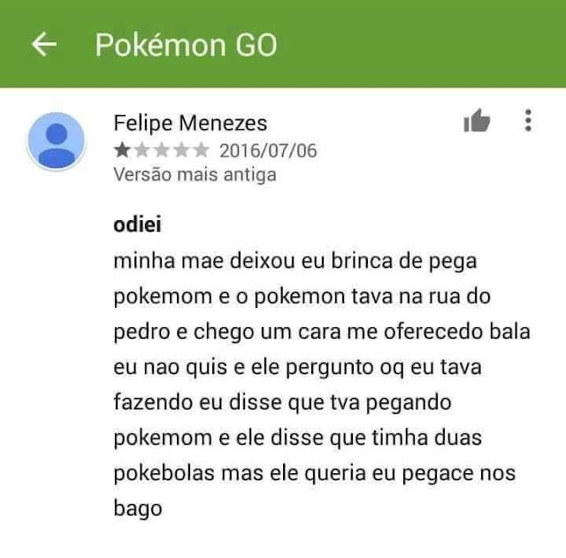 Imagens zuando Pokémon Go