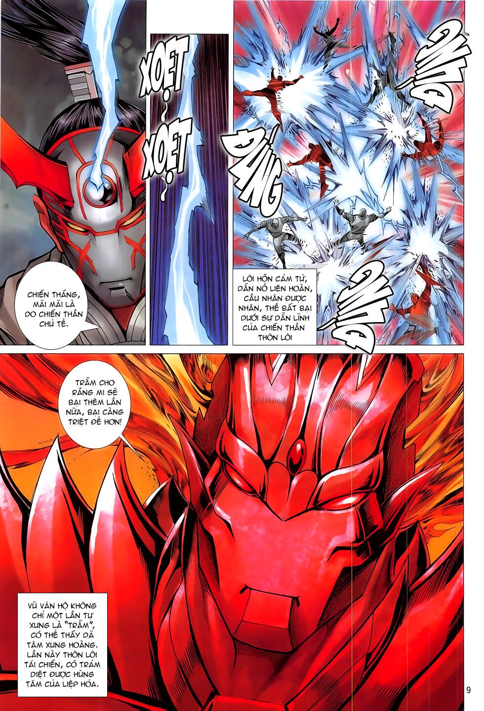 Chiến Phổ chapter 17: chiến thần phẫn nộ trang 9