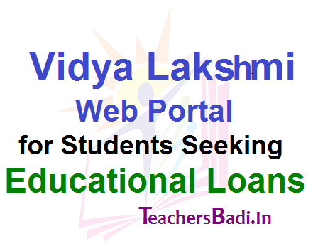 Vidya Lakshmi, Students, Educational Loans