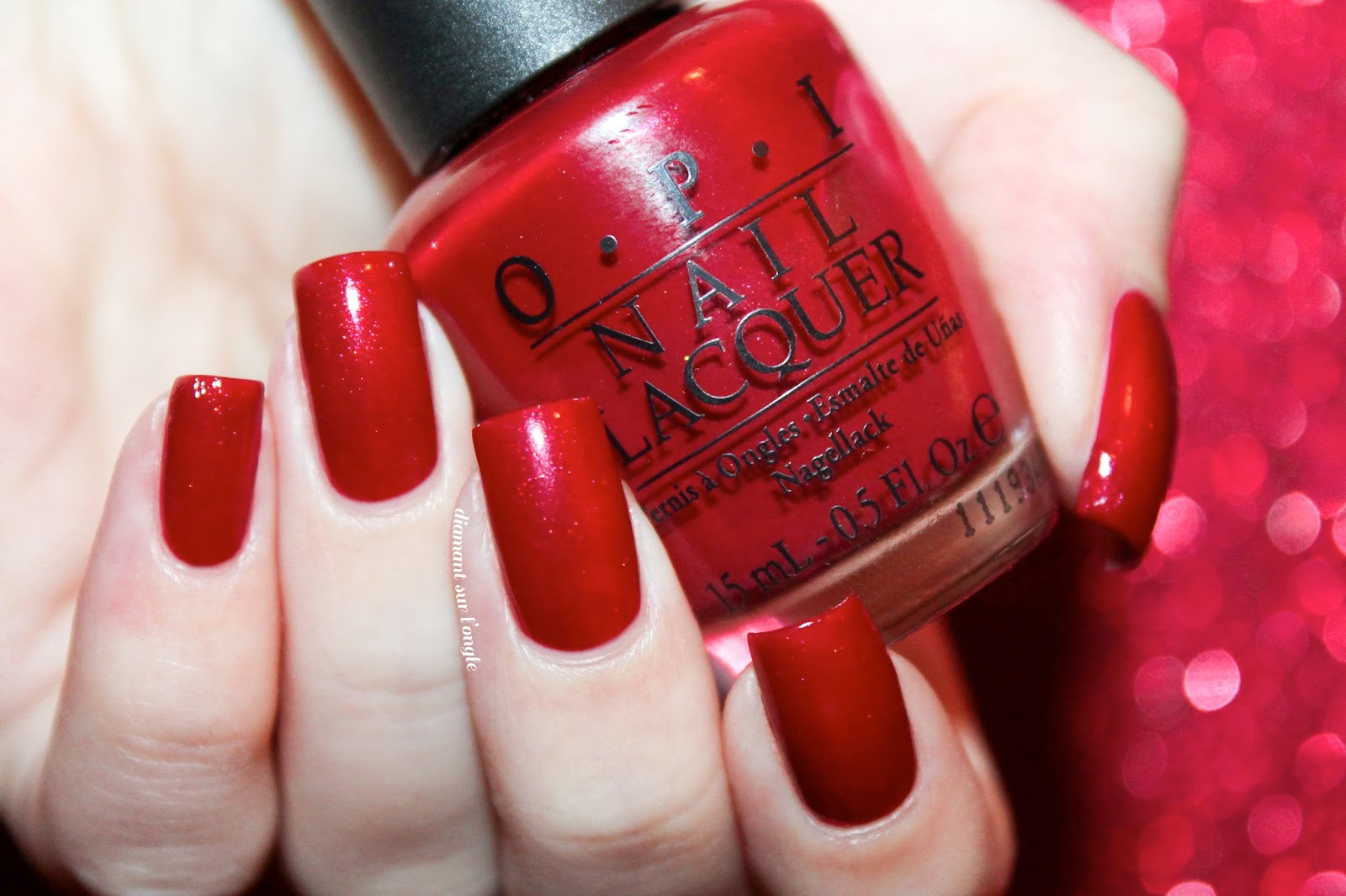 diamant sur l\'ongle: 🍷 Color to Diner For by O.P.I.