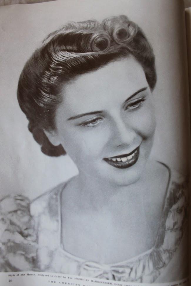 1940 american hair dresser magazine vintage pinup hair styles