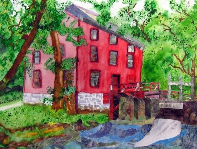 Акварельная живопись. Lesley White