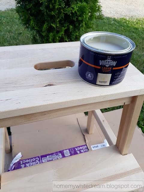 stołek Bekvam Ikea