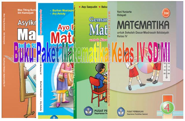 Buku Paket Matematika BSE untuk Siswa Kelas 4 SD/MI