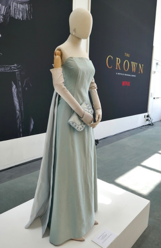 Jackie Kennedy dinner gown The Crown season 2