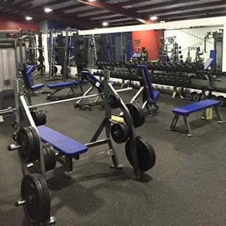 Greatmats Rubber Flooring Rolls at Pride Athletics weight room