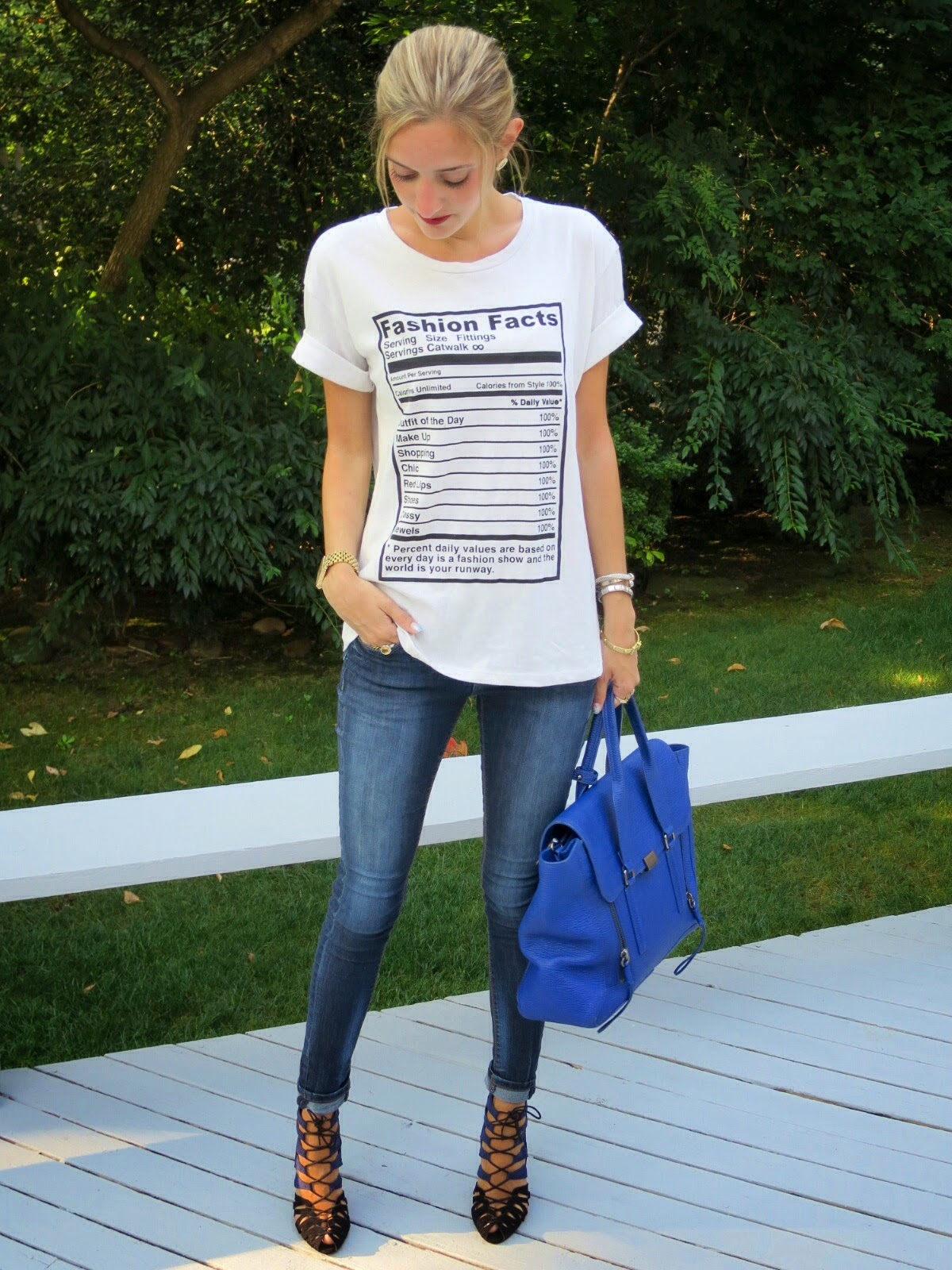 zara fashion facts t shirt
